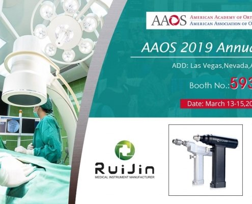 Visit Us at AAOS 2019 Annual Meeting-M